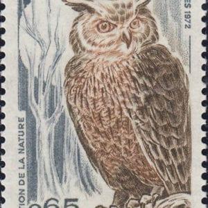 1972 Yt 1694 Eurasian Eagle-Owl Sc 1339