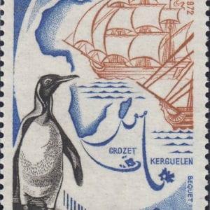 1972 Yt 1704 King Penguin Sc 1331