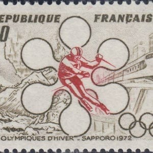 1972 Yt 1705 Winter Games in Sapporo Sc 1332