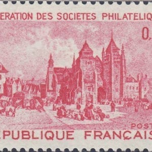 1972 Yt 1718 Saint Brieuc - Saint Etienne Cathedral Sc 1344