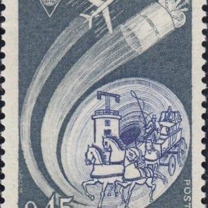1972 Yt 1721 International postcongress Sc 1347