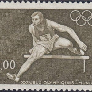 1972 Yt 1722 Summer Olympic Games  Sc 1348
