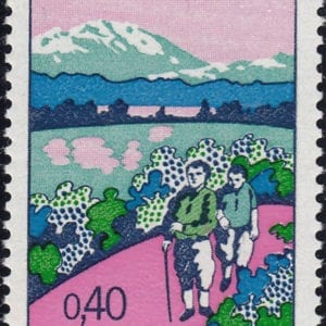 1972 Yt 1723 Year of hiking tourism Sc 1349